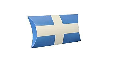 24 stuks pillowpack met de vlag van Zwolle, ook wel gondeldoosje of geschenkverpakking genoemd