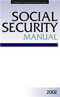 Paperback Social Security Manual 2002 Book