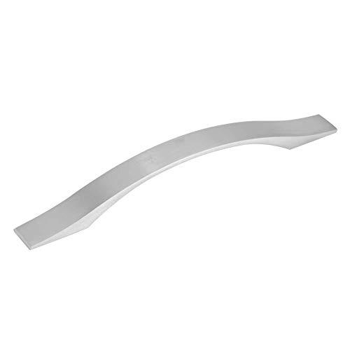 Manijas de gabinete de aleación de aluminio de 20 x 1 cm para cajones de 2,3 x 2,5 cm, para muebles de hogar