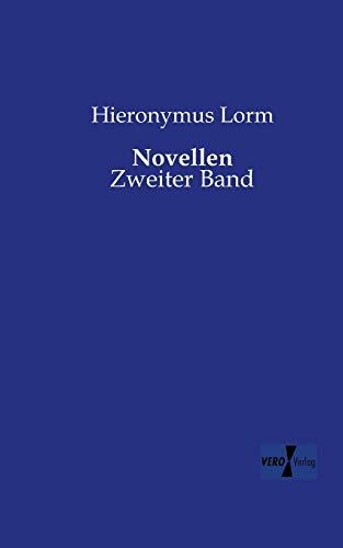 Novellen - Zweiter Band