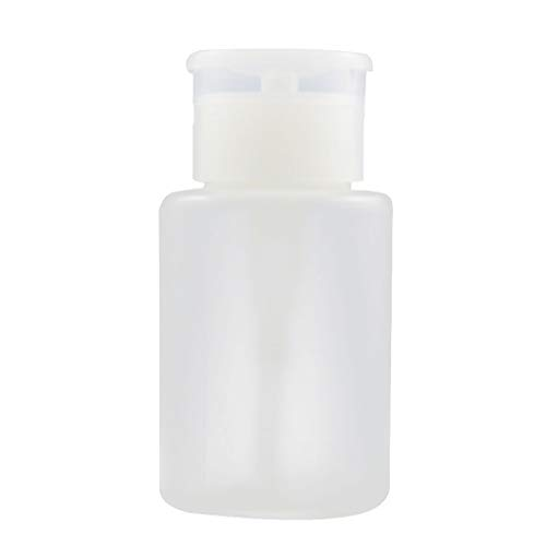Babysbreath17 Démaquillant pour vernis à ongles Distributeurs de pompe Bouteille en plastique vide pour nettoyant pour vernis à ongles Bouteille à l'alcool