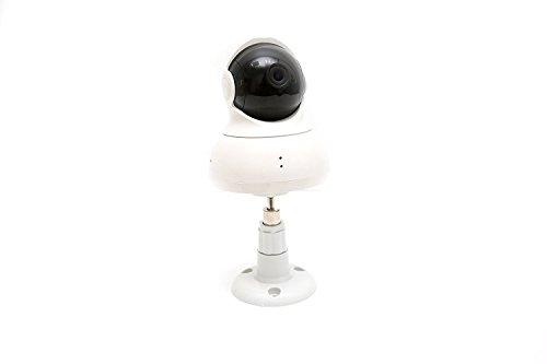 2 Pack Set Yi Dome Camera Articulating Mount Wall Mount Bracket Full Install kit (White)
