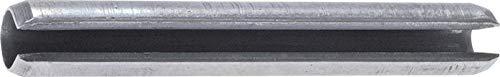 Spannhülse DIN 1481 / ISO 8752, 6x40, Edelstahl A2 Werkstoff:Edelstahl A2 Nenn Ø:6mm l:40mm d1*:6,4