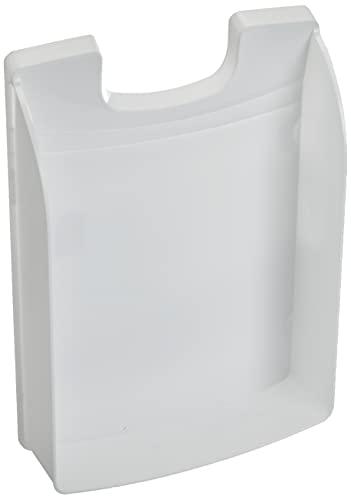LEITZ 52270201 Plus Standard, Vaschetta Porta Corrispondenza, Formato A4, Colore Bianco, 1 Pezzo