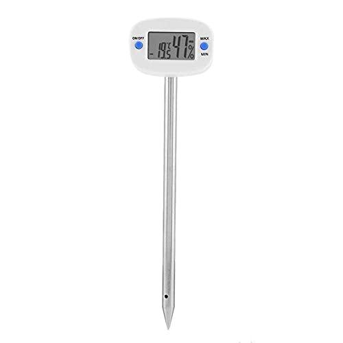 TA290 Digital Soil Hygrometer, Stainless Steel Needle Soil Test Kit pH Moisture Meter Plant Water Light Tester Testing Kits for Garden Plants