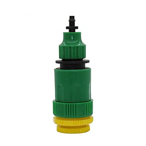 NEBSM 1 PC Hilo Femenino de Grifo de jardín 1/2'1' 3/4'a la tubería de Agua de 4/7 mm 8/11 mm Conector rápido de la tubería rápida del Adaptador de Grifo de irrigación Jardinería Riego