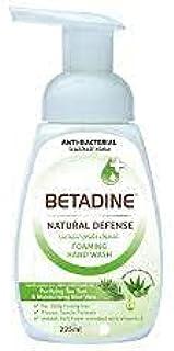 Betadine Natural Defense Hand Wash, Tea Tree Oil - 225 ml