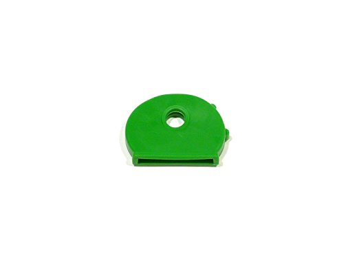 REMA Schlüsselkappen für runde Schlüssel Einzelnt und als 10er Set (10 Kappen, Grün)
