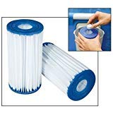 Blue Wave NFC230-4 4-Pack Type C Filter Cartridge for Intex and...