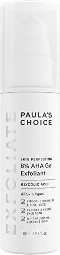 Paula's Choice SKIN PERFECTING 8% AHA Gel Exfoliant with Glycolic Acid Chamomile & Green Tea, 3.3 Ounce Pump Leave-On Gentle Exfoliator
