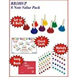 KidsPlay 8 Note Handbell Set Value Package