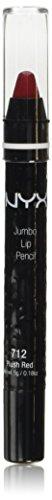 NYX Cosmetics Jumbo Lip Pencil Plush Red