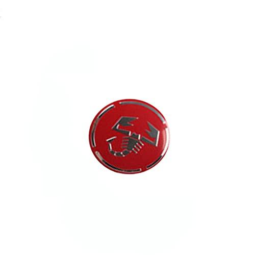 56 Mm 4 Piezas Tapas De Cubo De Centro De Rueda Protector Solar Impermeable Decorativo, Cubiertas De Emblema Accesorios De Estilo, Para Fiat 500 Punto Bravo Stilo Panda