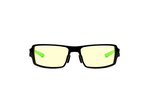 Gunnar Gaming- und Computerbrillen|Razer RPG|Schutzbrille |Patentierte Linse, 65% Blaulichtschutz, 100% UV-Lichtschutz, Antireflex zur Reduzierung der Augenbelastung und Vorbeugen trockener Augen
