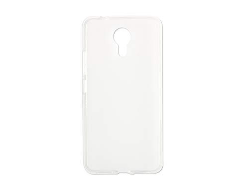 etuo Handyhülle für Allview X4 Soul Style - Hülle FLEXmat Hülle - Weiß - Handyhülle Schutzhülle Etui Hülle Cover Tasche für Handy