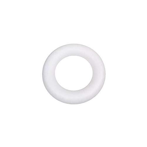 CREATIV DISCOUNT® NEU Styroporring voll, 25 cm , 1 Stück, PREISHIT