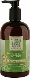 Tea Tree & Lemon Hand & Body Lotion by Aromaland by Aromaland