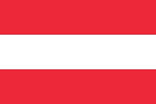 BGFint Österreich Flagge Fahne Austria 150x90cm Stoff 100g/qm