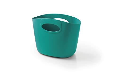 GF Garden, FOR Everyday, Einkaufstasche, Kunststoff, Mehrzweckbehälter mit Henkeln, Farbe Hellblau