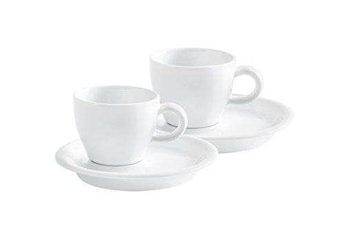 Espressotassen Set 4 teilig Café Sommelier 2.0 weiß