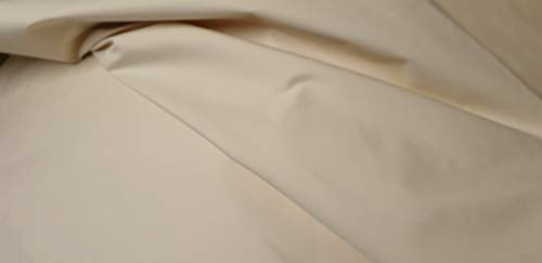 100/% Baumwollstoff SCHLEIERNESSEL Windelnessel Stoff ROH-WEISS ECRU 150cm breit