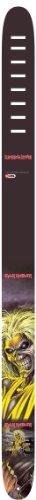 Perri's Leather Ltd P25INM-1333 - Correa para guitarra de cuero, Hierro Maiden