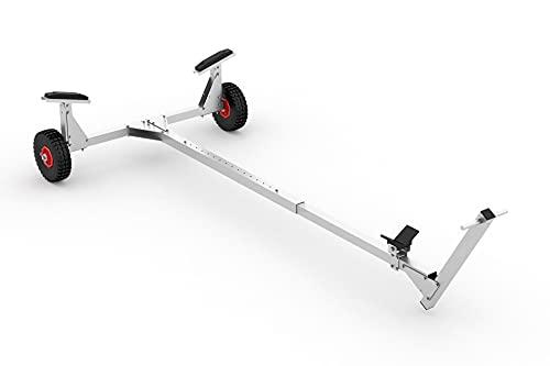 Slipwagen L-2600 zerlegbar, Räder-Bereifung:luftbereift, Räder-Durchmesser:Ø 260 mm
