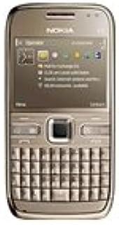 Nokia E72-1 Standard Edition QWERTY Keyboard Factory Unlocked 3g Cell Phone (Topaz Brown) - International Version