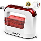 HOMEVER Steamer for Clothes, 1300W Clothing Steamer,Powerful Handheld Garment Iron Steamers, Horizontal