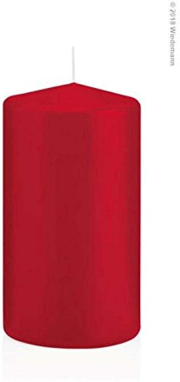 12Bougies en cellophane 130 70mm (Rouge)