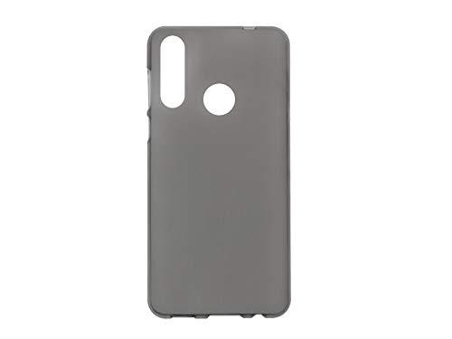 etuo Hülle für HTC Desire 19 Plus - Hülle FLEXmat Hülle - Schwarz Handyhülle Schutzhülle Etui Hülle Cover Tasche für Handy