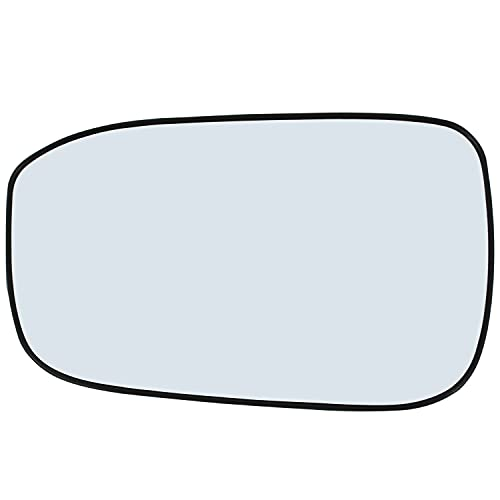 Left Hand Driver Side Mirror Assembly Plastic Backing Plate Compatible With 2003 2004 2005 2006 2007 Honda Accord Glass 7-1/2 Inch Diagonal Sold By Rugged TUFF