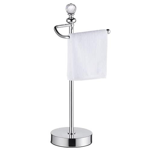 ROLABAM Metal Fingertip Towel Holder Stand