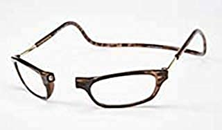 Clic Magnetic Reading Glasses Tortoise +2.50