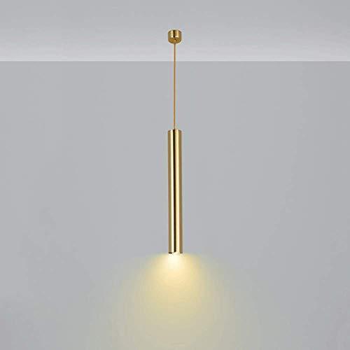 Tanktoyd Posmodernas Luces Colgantes Redondas Luz de Restaurante Lámpara de Techo LED de Lujo nórdico Lámpara empotrada de Cobre Puro Foco Cocina Tienda Barra de Bar Lámparas de suspensión