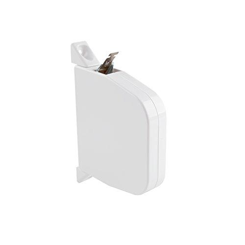 JAROLIFT Maxi-Aufputz Gurtwickler mit Einzugshilfe, weiss