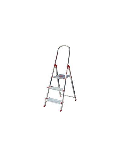 Escalera Rolser Aluminio Norma 220 3 Peldaños anchos