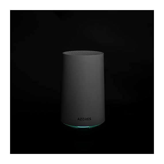 AZORES AX1500 Smart WiFi 6 Dual Band MU-MIMO Wireless Router 4 Next-gen Wi-Fi6 802.11ax standard compatible with previous wifi stands 802.11 ac/n. Dual-band ultra-fast wireless speed up to 300 Mbps on 2.4GHz band and 1200 Mbps on 5GHz band. More devices connection simultaneously with OFDMA and MU-MIMO while reducing lag. Larger and highly-reliable Wi-Fi coverage with less interference and excellent seamless roaming capability. Best suitable partner for residential and small office applications.