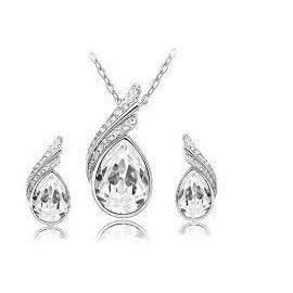 WAY2BB - Juego de joyas de cristal austriaco, idea regalo para el...