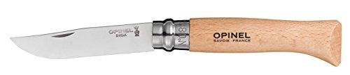 Opinel 04428VRI N8ZB5197919–Messer aus Edelstahl mit Blocker, 8.5 cm