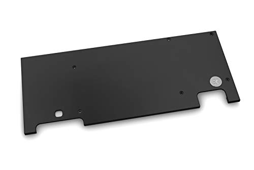 EKWB EK-Quantum Vector Strix RTX 2080 Ti Backplate - Black, schwarz