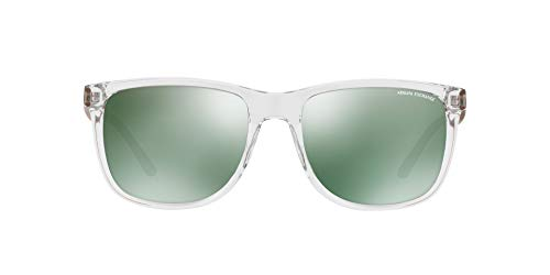 A|X Armani Exchange Hombres Plastic Man Sunglass Gafas de sol plásticas para hombre 57 MM