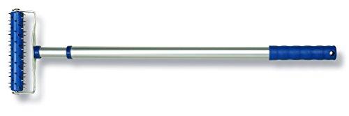 Color Expert 95813044 Profi-Stachelwalze Aluminium, 15cm, Silber, Blau