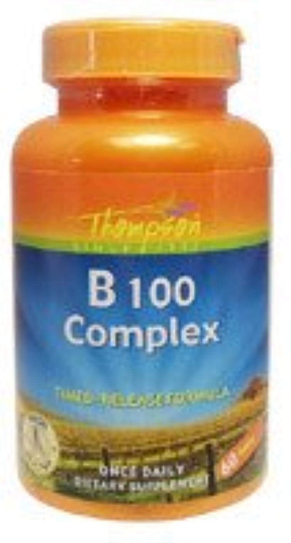 バンド相談海洋[海外直送品] Thompson B100 コンプレックスタイムリリース 60粒