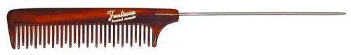 Fantasia Peigne à queue aiguille Motif écaille de tortue 20 cm