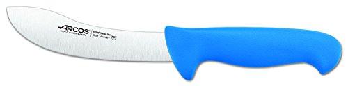 Arcos Serie 2900 - Kürschnermesser - Klinge Nitrum Edelstahl 160 mm - HandHandgriff Polypropylen Farbe Blau