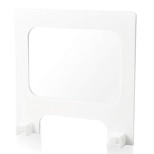 エレコム パーティション コロナ対策 飛沫対策 プラスチックダンボール素材 幅600×奥行150×高さ600mm 5セット ホワイト PSI-PTPCB01WH