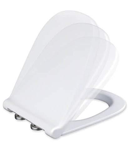 Tapa y asiento de inodoro con caida amortiguada - Compatible con Dama Retro