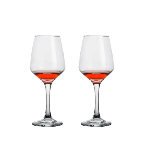 Ssskl Copa De Vino Tinto, Copa De Champán De Cristal Sin Plomo Para El Hogar, Es Muy Adecuada Para Familias, Restaurantes Y Fiestas. 230ml-2 piezas