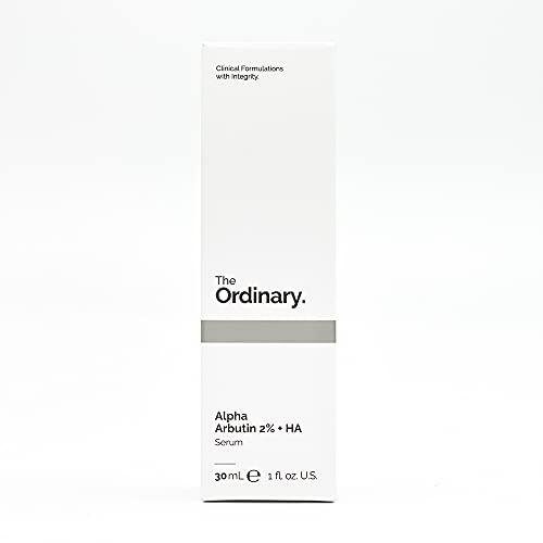 The Ordinary. Alpha Arbutin 2% + acido Ialuronico. Siero anti- macchie 30 ml, formulazioni cliniche con integrità.